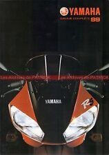 YAMAHA Gamme 1999 YZF R1 R6 R7 OW02 XJ TDR GTS XJR TDM FZS TRX XT TT XVS  #0011#