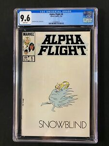 Alpha Flight #6 CGC 9.6 (1984) - Snowblind