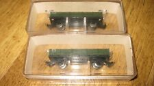 PAIR OF EGGER BAHN HOe GAUGE DROPSIDE GOODS WAGONS P25