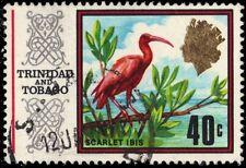 """TRINIDAD & TOBAGO 155i (SG350B) - Scarlet Ibis """"1972 Printing"""" (pf7220)"""
