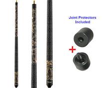Viper 50-9003 Realtree Max 4 Camo Pool Cue Stick 18-21 oz & Joint Protectors