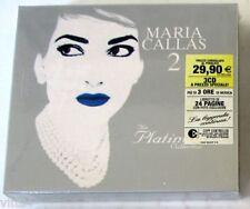 MARIA CALLAS 2 - THE PLATINUM COLLECTION - Box 3 CD Sigillato