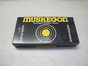Muskegon PS5710 030 Piston Ring set fit CONTINENTAL 6 CYL