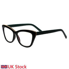 Lady reading glasses cat eyes vintage mirror reader retro portable reading glass