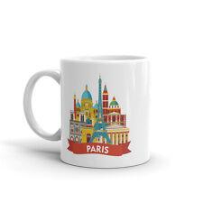 PARIS Skyline di alta qualità 10oz Tazza Da Caffè Tè #7918
