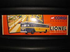 CORGI CLASSICS GM 4502 LIONEL CITY BUS LINES  OLD SHOP STOCK 54007 LTD ED