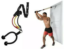 Resistance Bands Set Kit Doorway 7 Level Interchangeable Clips Home Gym Workout