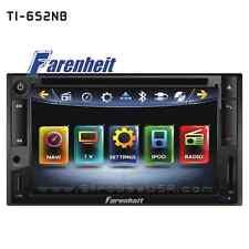 """Farenheit Inteq 6.5"""" Touch Screen 2-Din AM/FM Multimedia Receiver TI-652NB"""