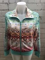 Woman's Adidas Originals Track Top Size 14 Multicolour Butterfly Ladies Jacket