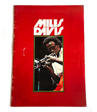 MILES DAVIS JAPAN TOUR 1973 CONCERT PROGRAM BOOK Jazz Lonnie Liston Smith Mtume