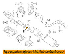 NISSAN OEM Exhaust-Catalytic Converter & Pipe Seal 20695ED10E