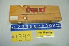 Freud Professional Woodworking Router Bit Set item # 88 - 100  Made in Italy