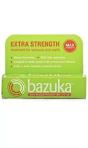 Bazuka Extra Strength Treatment for Verruca's and Warts Max Strength Gel 6g