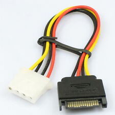 1PC PCI-E1x To 16X Sata Graphics Converter Adapter Video Card Power Cable Cord