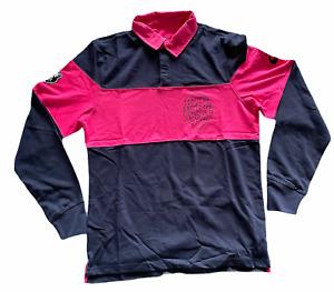 Stade Francais Mens Shirt Asics Long-Sleeved Rugby Shirt - New