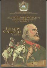 "SAN MARINO - 2 Euro comm. 2007 ""Giuseppe Garibaldi"" FDC in blister"