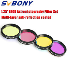 "SVBONY Filters 1.25"" LRGB Imaging for Deepsky and Planetary CCD Imaging Set new"