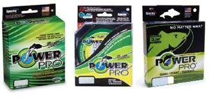 Power Pro Braid 275m Spools 3kg-95kg Green/Yellow/Red/White