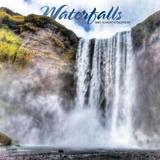 WATERFALLS - 2021 WALL CALENDAR - BRAND NEW - 20697