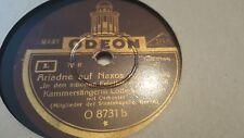 LOTTE LEHMANN ARIADNE AUF NAXOS-IN DEN SCHONEN FEIERKLEIDERN ODEON O-8731