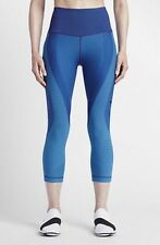 NIKE WOMEN'S ZONED SCULPT TIGHT FIT CAPRI TIGHTS TRAINING  SIZE MED 810967-455