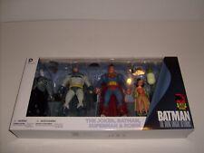 DC Direct Batman Dark Knight Returns 4 Figure Set Superman Robin Joker NEW MIB