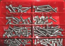 boîte d'assortiment 130 pièces vis Torx Lot Boîte acier inox 7985