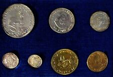 1962 South Africa 7 Piece w/Silver Proof Coin Set    #e ** FREE U.S. SHIPPING **