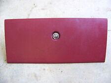 1971 FORD LTD GLOVEBOX DOOR RED 72