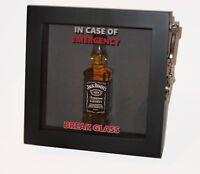 BIRTHDAY GIFT Emergency Break Glass 3d Box Frame Drink/Alcohol/Tea/Coffee