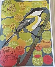 Nekko Case Band Mini-Concert Poster Reprint for 2008 Chicago Gig 14X10 Unsigned