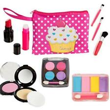 Beverly Hills Kids Pretend Play Makeup Cosmetic Kit With Bright Polka Dotted Toy