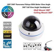 1x Panorama CCTV Analog Effio-E 700TVL Indoor/outdoor Mini Dome Camera