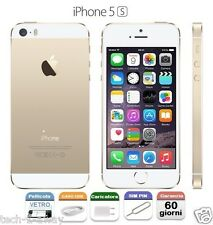 APPLE iPhone 5S 16gb GRADO A+ Pari a Nuovo GARANZIA CONTRASSEGNO GOLD ORO