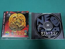 Neo Geo CD -- Double Dragon -- JAPAN GAME. SNK. 15131