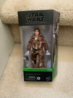 """Star Wars The Black Series HAN SOLO (ENDOR) 6"""" Action Figure - IN HAND"""