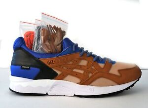ASICS Men's 13 Gel-Lyte V Concepts Mix & Match Royal Sneakers BRAND NEW