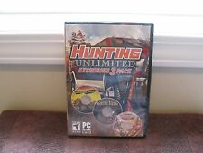 Hunting Unlimited Excursion 3 Pack PC CD-ROM Win XP/Vista/7 - New Factory-Sealed