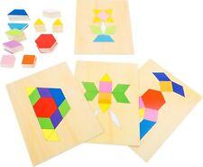 Mosaik-Box Puzzle aus Holz Rahmenpuzzle Kinderpuzzle Mosaikpuzzle Holzbox Neu