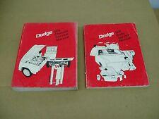 1974 Dodge Charger Dart Coronet Monaco shop service body repair manual SET