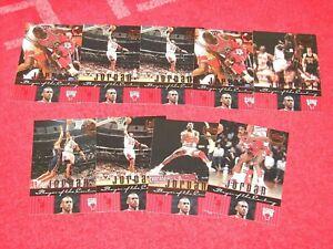 MICHAEL JORDAN 1999 UPPER DECK CENTURY LEGENDS LOT OF 9 CARDS (MJ1)