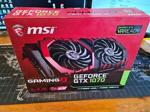 MSI GeForce GTX 1070 8 Go GDDR5 Carte Graphique