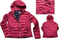 NEW NEXT Ladies BERRY PINK Packaway Padded Puffa Duck Down Coat Jacket £50 6- 22