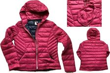 NEW NEXT Ladies BERRY PINK Packaway Padded Puffa Duck Down Coat Jacket £50 6- 24