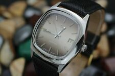 Vintage *NOS* CERTINA Automatic Cal. 919-1 Stainless Steel Smoke Dial Mens Watch