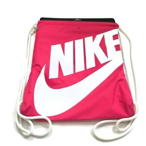 Nike Heritage Gymsack Draw String Backpack Pink NWT