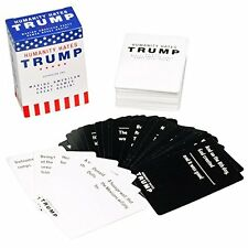 Cards agianst humanity Donald Trump Party Fun Game 110 Cards Base Pack Expansion
