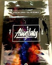 Alien Labs Black Mylar Bags x10 3.5g Heat Sealable Smell Proof