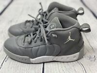 Nike Air Jordan Jumpman Pro Cool Grey White Wolf Youth Sz 2