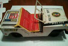 Vintage Japan Yone Police Dept Jeep